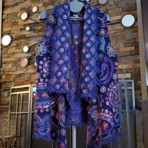 Beautifully colorful embroidered vest